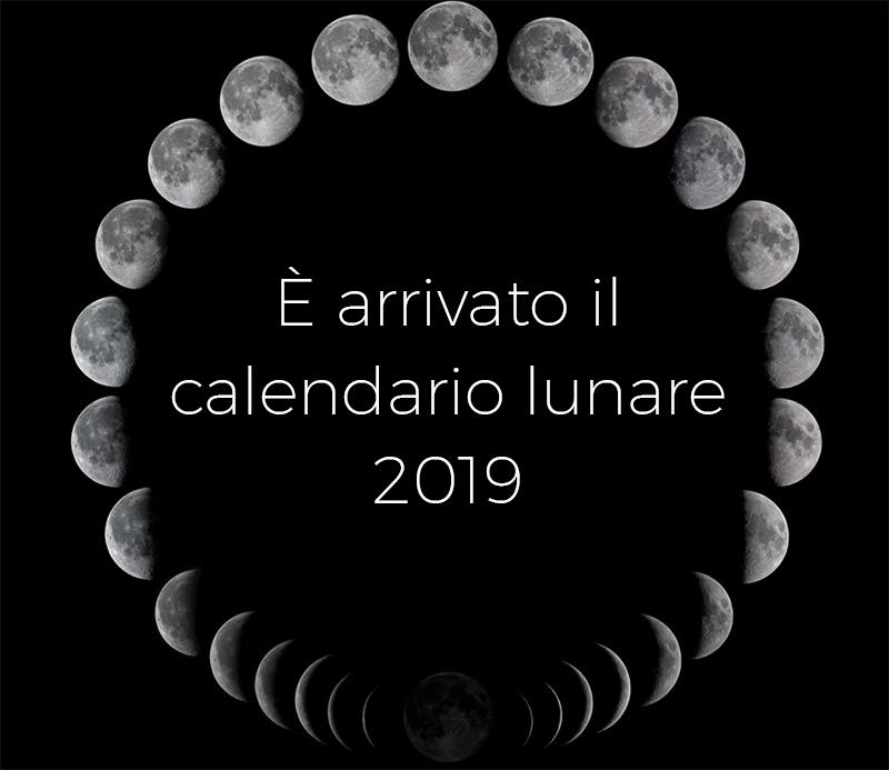 Calendario Lune.2019 Calendario Lunare